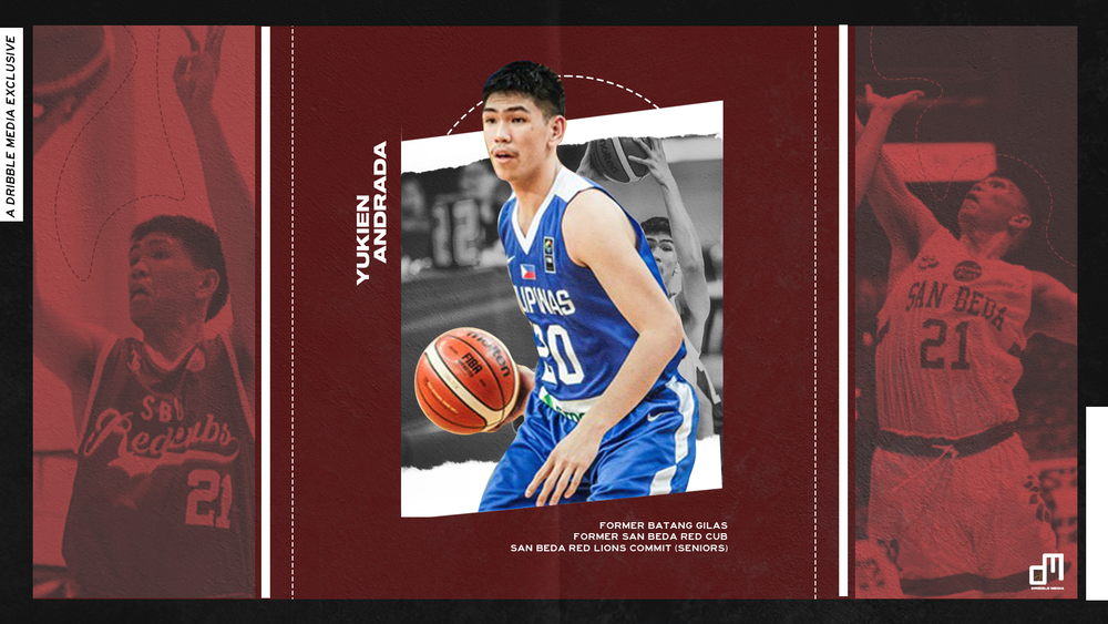 Yukien Andrada of the San Beda Red Lions