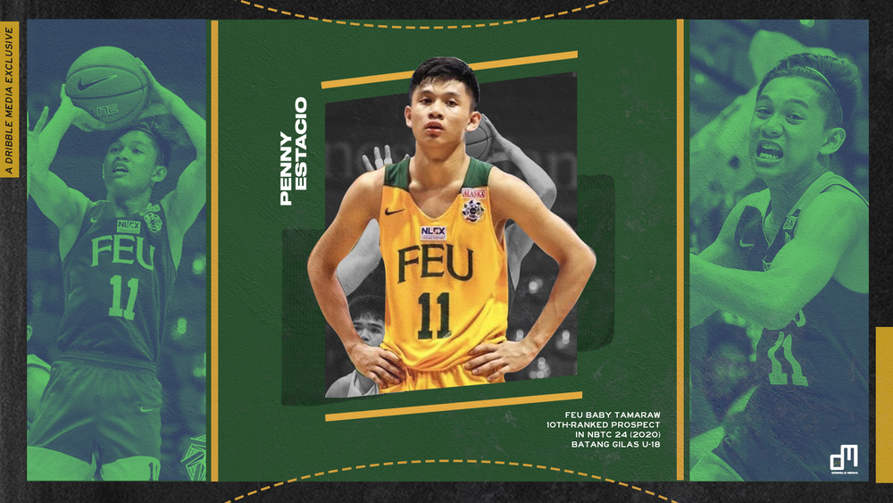 Penny Estacio is currently the 10th-ranked high school basketball prospect in the Philippines.