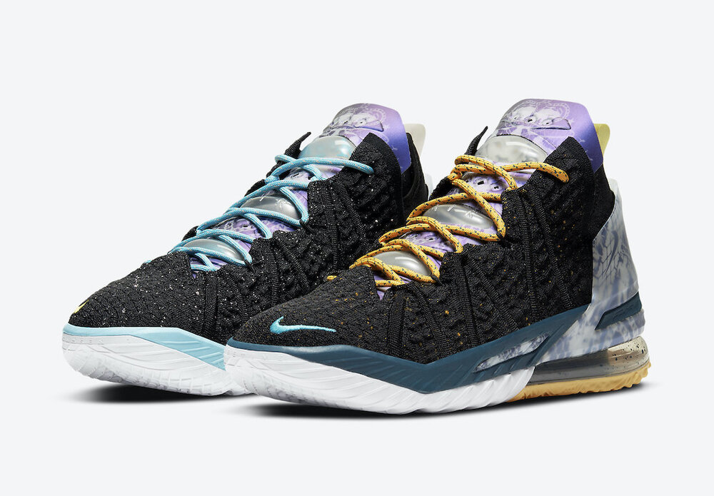 The Nike LeBron 18 immediately sold out after being released on September 21. (Photo courtesy of Nike)