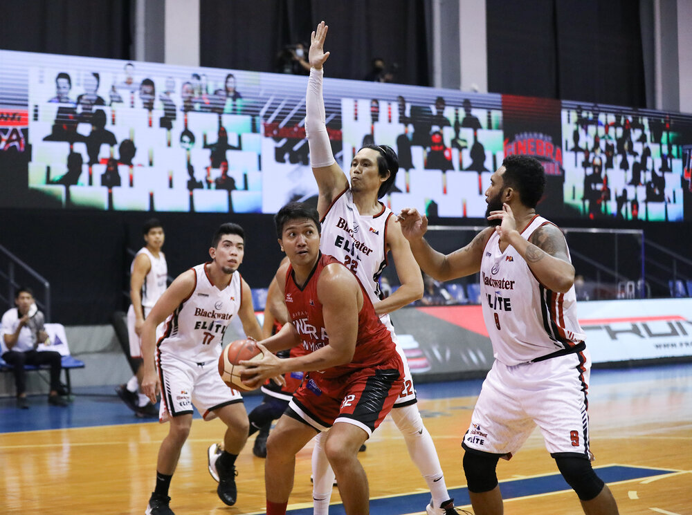 Caperal poured in 24 points to power Ginebra past Blackwater. (Photo from PBA)