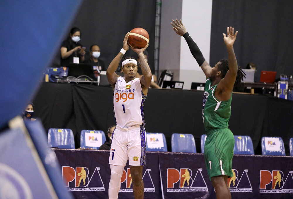 Ray Parks scored a game-high 40 points in TNT's win over TerraFirma. (Photo from PBA)