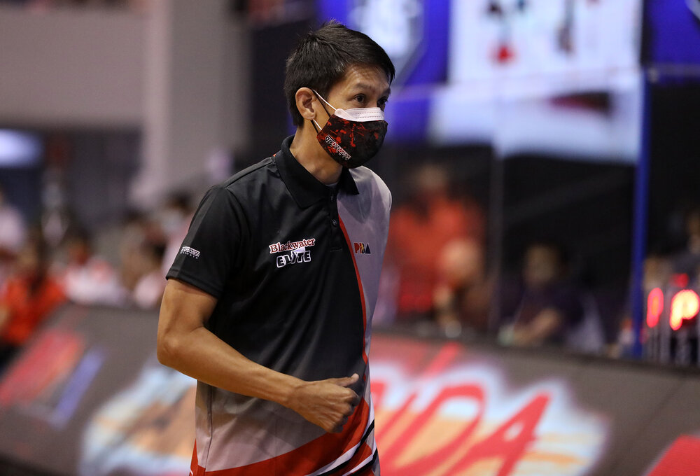 Blackwater booked its first win under new head coach Nash Racela. (Photo from PBA)