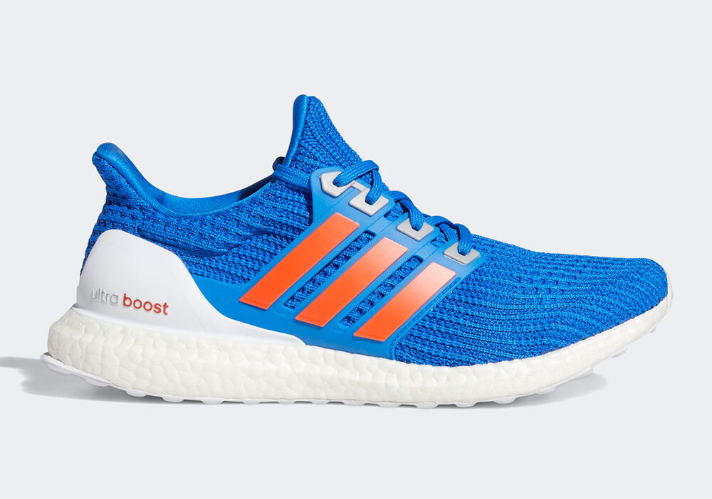 The Adidas Ultra Boost DNA will be dressed in the Florida Gators colorway. (Photo courtesy of Sneaker News)