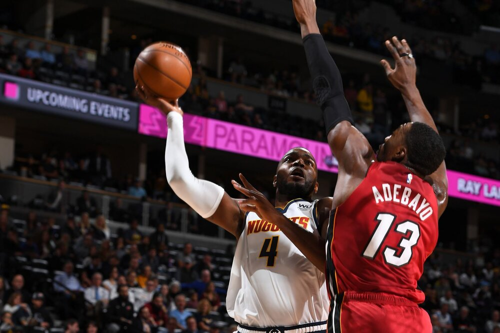 Paul Millsap can co-exist with Bam Adebayo on the Heat's frontcourt. (Photo by Garrett Ellwood/NBAE/Getty Images)