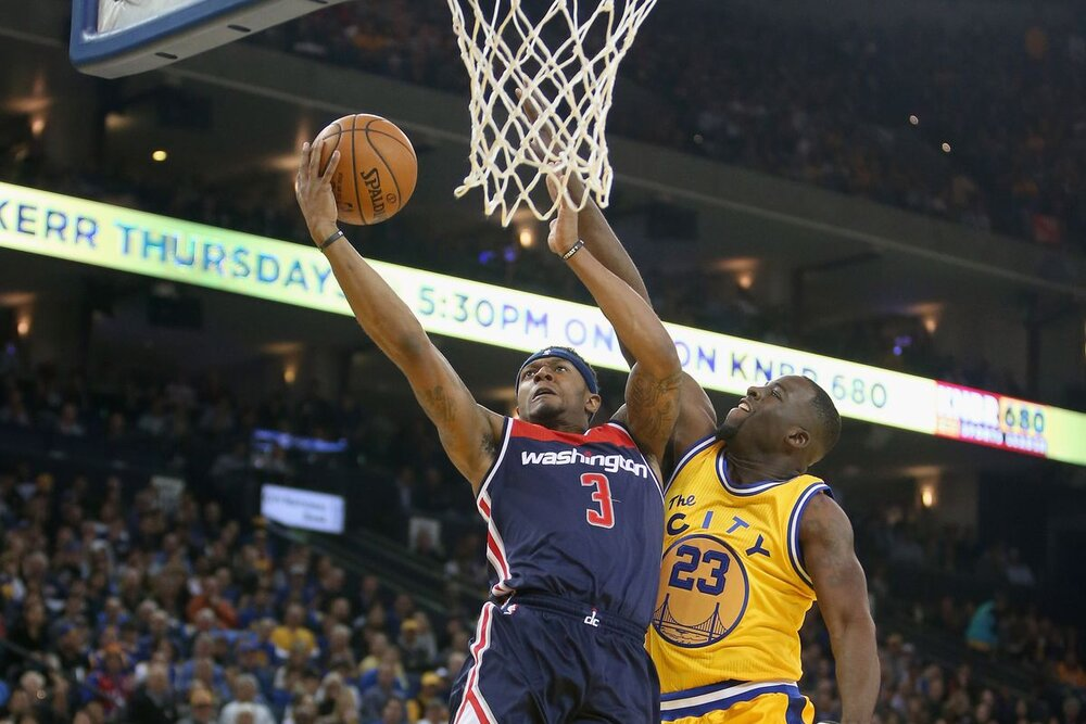 Warriors fans can witness both Bradley Beal and Draymond Green playing together for the Bay Area. (Photo by Ezra Shaw/Getty Images)