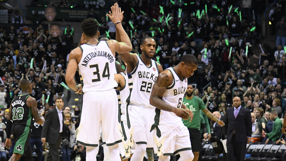 The core of Antetokounmpo, Middleton and Bledsoe have failed to bring a championship to Milwaukee. (Photo via Getty Images)