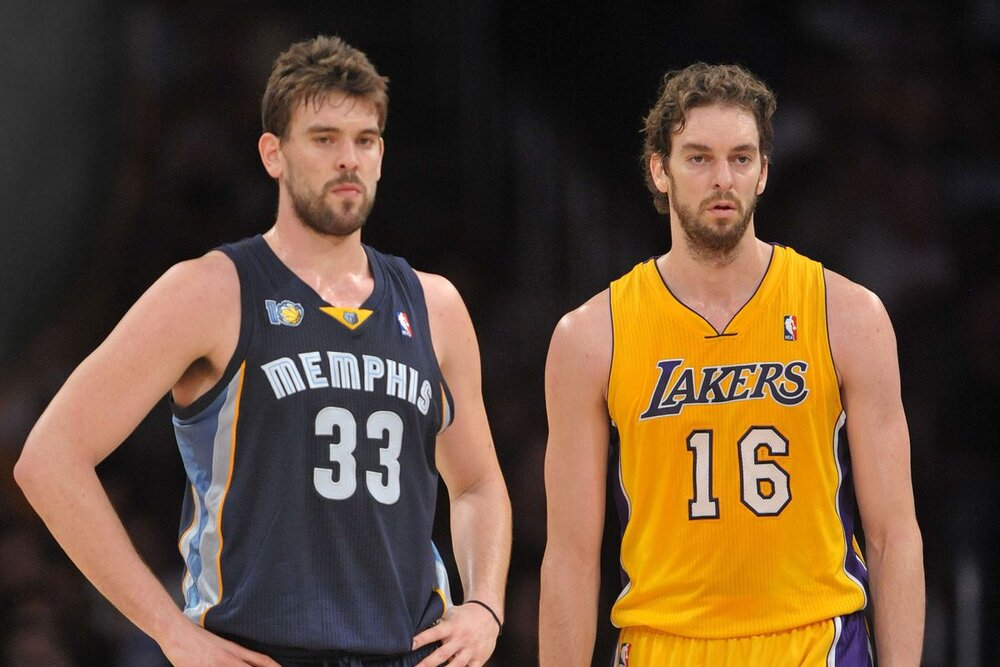 Pau Gasol plans to join his brother Marc in the Lakers roster. (Photo by Kirby Lee/USA TODAY Sports)