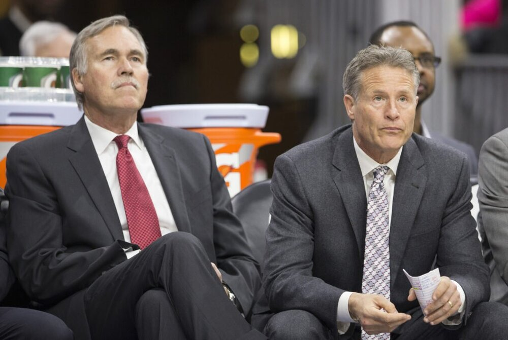 The Sixers may re-unite with former associate head coach Mike D'Antoni. (Photo from The Athletic)