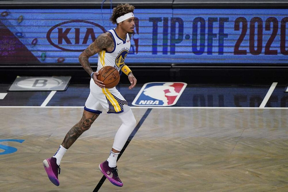 The Warriors could be trading away newly-acquired swingman Kelly Oubre Jr. (Photo by Kathy Willens/AP)