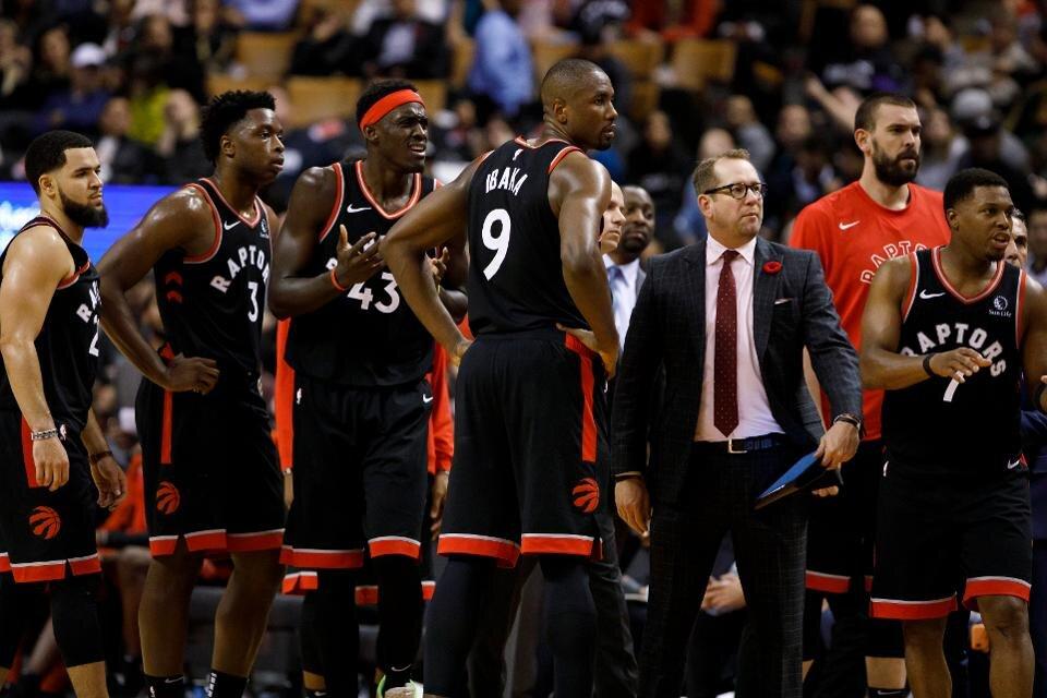 2019-2020 Toronto Raptors (Cole Burtson/Getty Images)