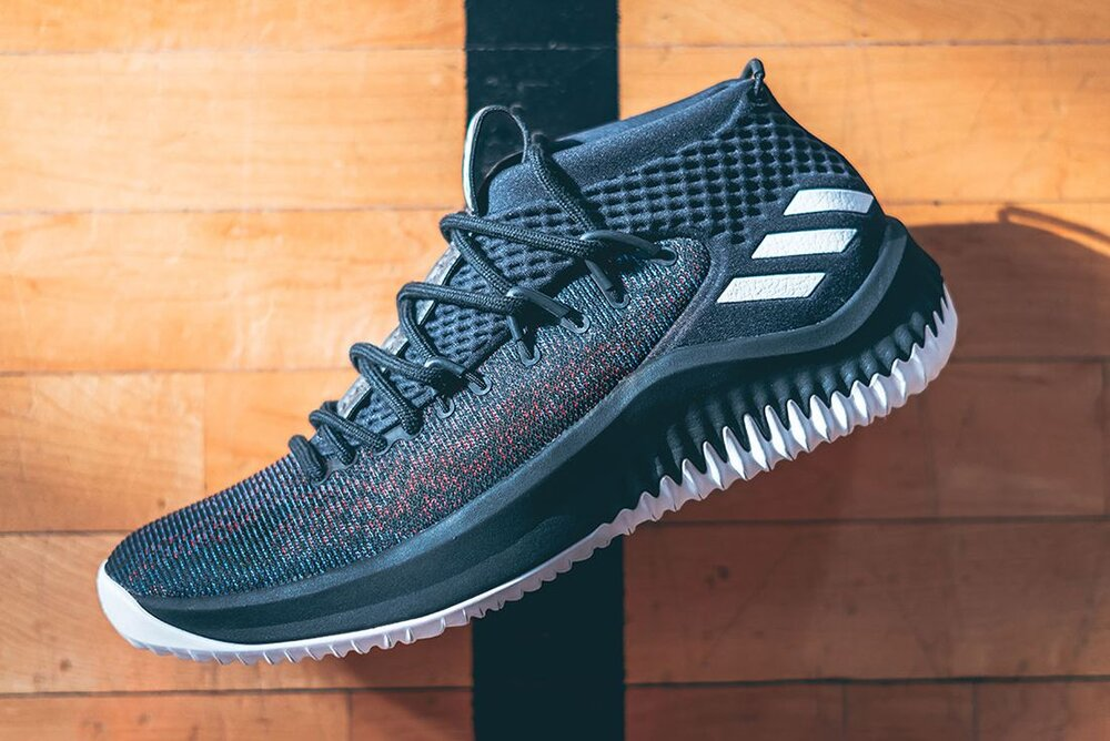 Damian Lillard's prestige in the shoe game continues to rise as he signed a 10-year US$100 Million deal with Adidas in 2014 (Photos courtesy of Craig Mitchelldyer/USA Today Sports and sneakerfreaker.com)