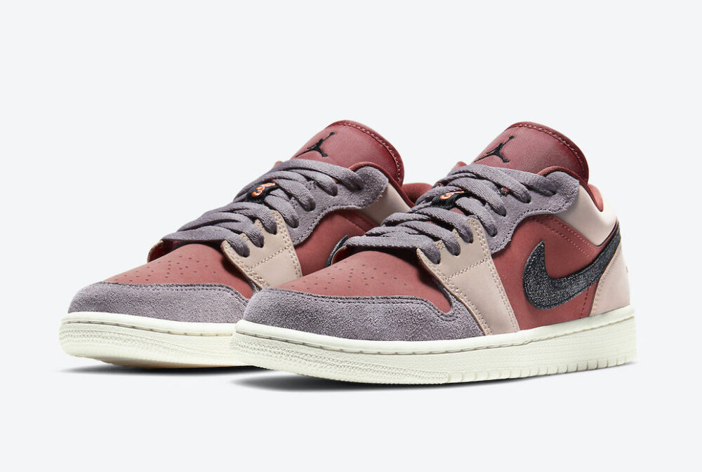 """The Air Jordan 1 Low """"Canyon Rust"""" receives some fresh flavors. (Photo courtesy of Sneaker Bar Detroit)"""
