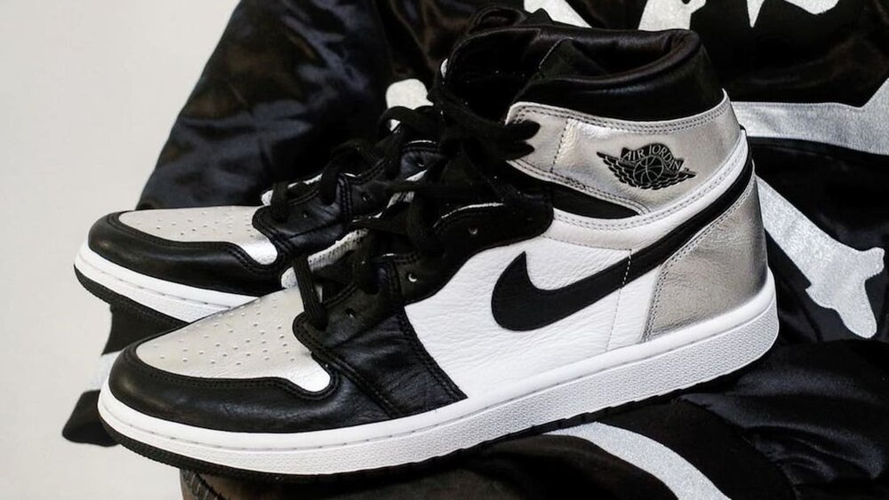 """The Air Jordan 1 High OG """"Silver Toe"""" will be released exclusively in women's sizes. (Photo courtesy of Sneaker Bar Detroit)"""