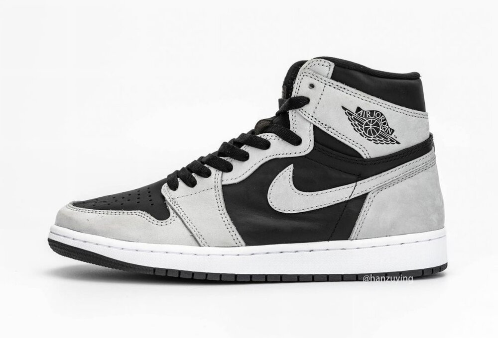 """The Air Jordan 1 High OG """"Shadow 2.0"""" is set for release on May 2021. (Photo courtesy of Sneaker Bar Detroit)"""