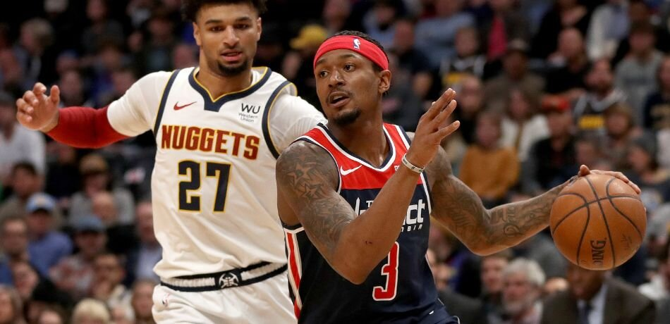 Beal and Jamal Murray could form a deadly backcourt duo in Denver. (Photo by Matthew Stockman/Getty Images)