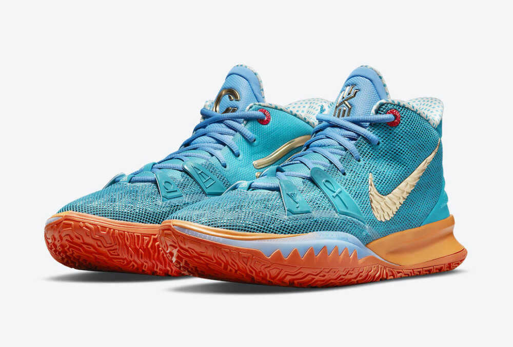 """Nike and Concepts will collaborate once more to release the Nike Kyrie 7 """"Concepts"""". (Photo courtesy of Sneaker Bar Detroit)"""