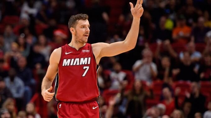 Goran Dragic had a clutch performance to give the Heat a commanding 2-0 lead. (Photo courtesy of Jasen Vinlove/USA Today Sports)