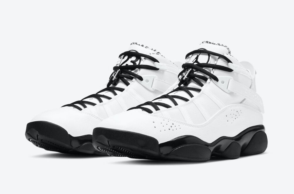 Jordan 6 Rings is a tribute to Michael Jordan's six championship rings. (Photo courtesy of Sneaker Bar Detroit)