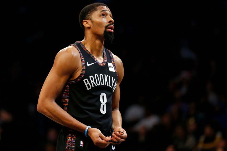 Spencer Dinwiddie can suit up for the Clippers. (Photo courtesy of Adam Hunger/Associated Press)