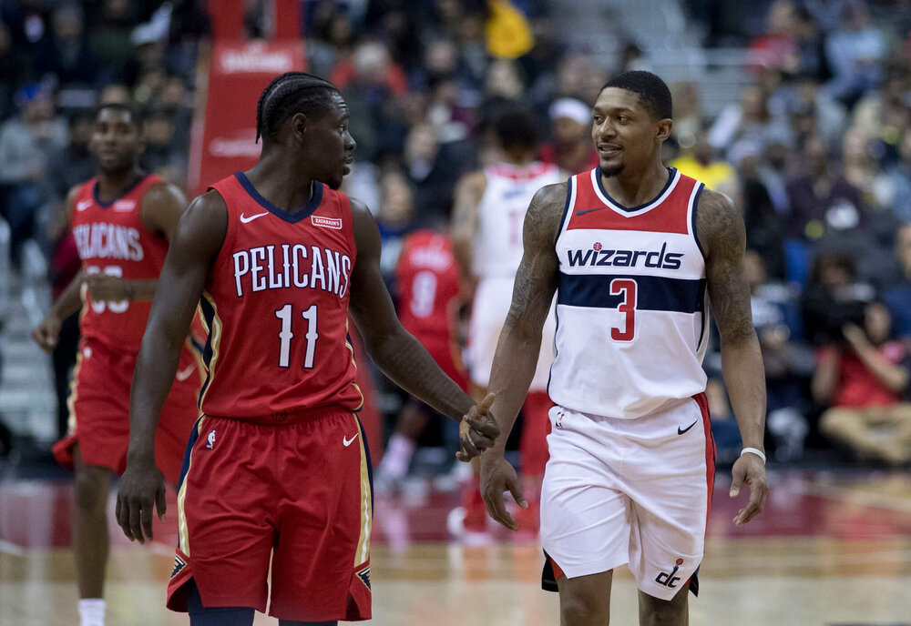 The Pelicans can move Jrue Holiday to the Wizards in exchange for a masterful scorer in Beal. (Photo by Keith Allison)