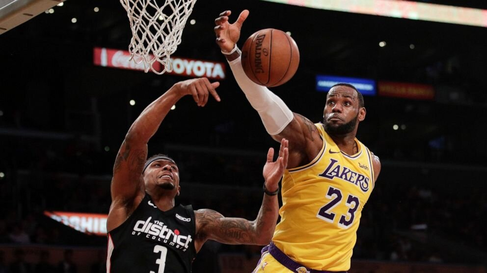 Bradley Beal could team up with LeBron James in Los Angeles. (Photo by Jae C. Hong/AP)
