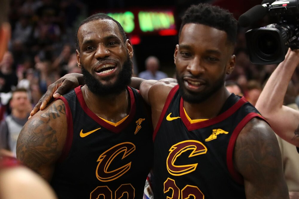 Jeff Green and LeBron James can team up again in Los Angeles. (Photo via FanSided)