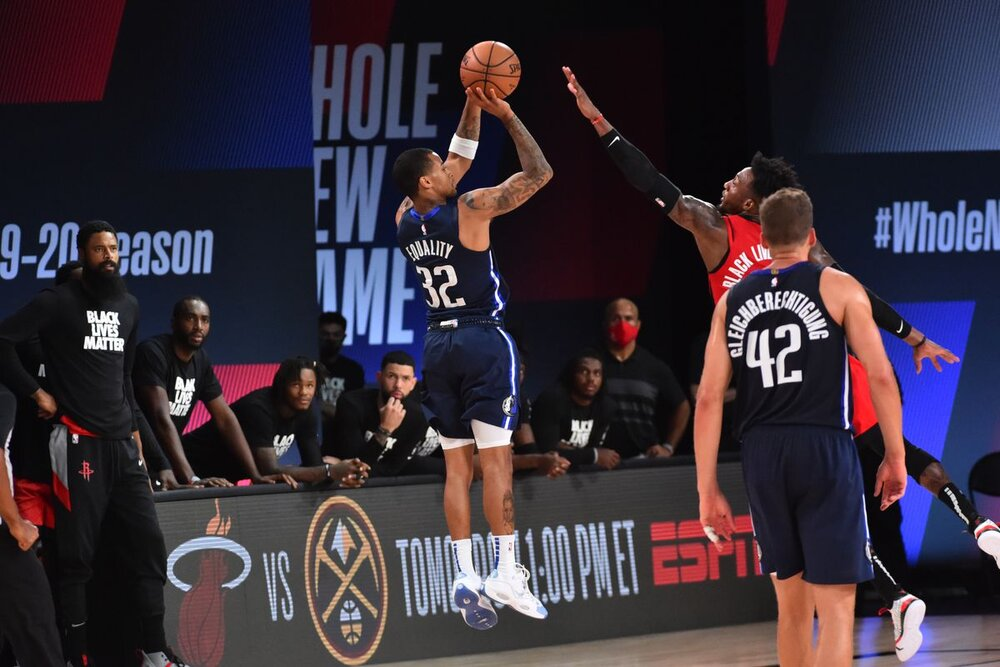 Trey Burke displayed his multi-faceted offense during the Mavericks' playoff stint. (Photo by Jesse D. Garrabrant/NBAE/Getty Images)