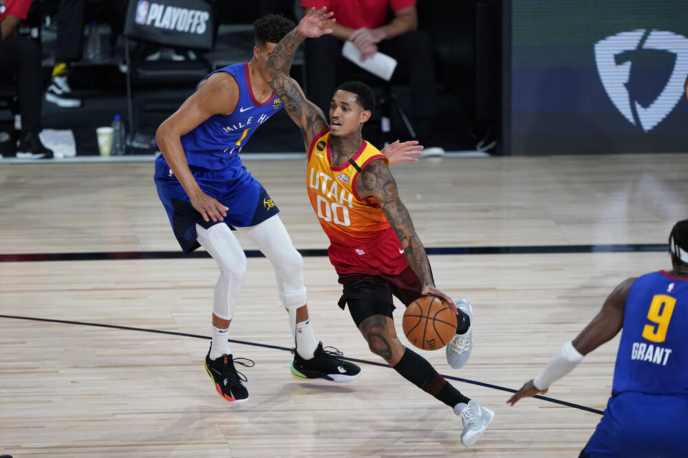Jordan Clarkson is Utah's primary scoring punch off the bench. (Photo by Ashley Landis/USA TODAY Sports)