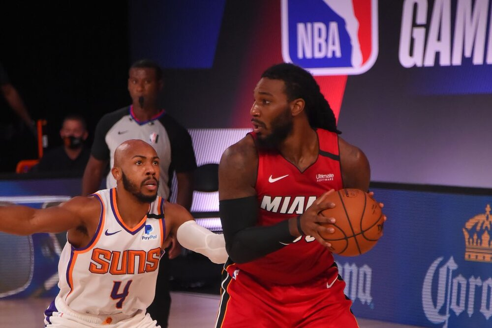 Jae Crowder will provide defensive versatility for the Suns. (Photo by Bill Baptist/NBAE/Getty Images)