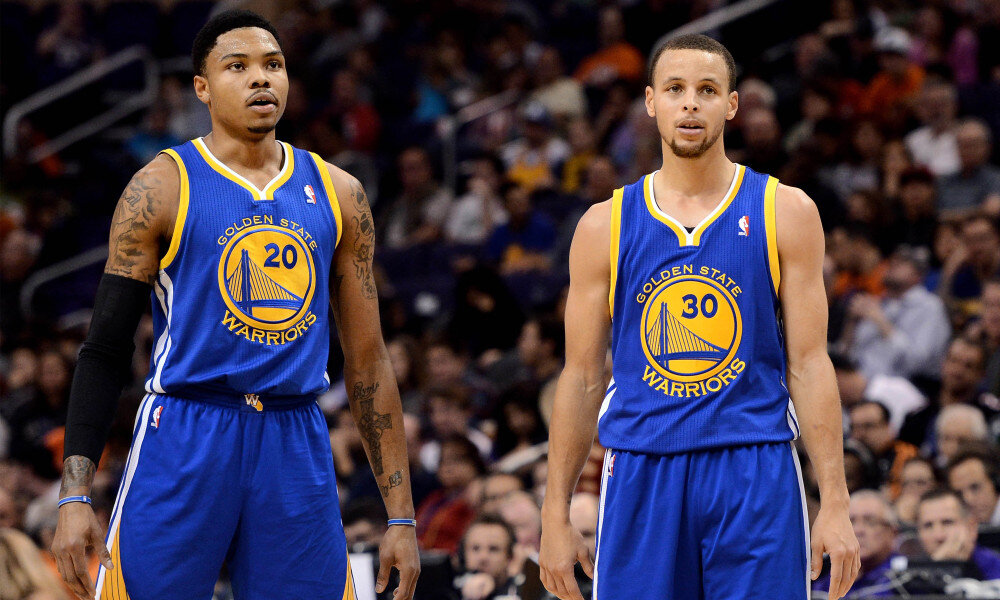 Kent Bazemore has reunited with Steph Curry and the Warriors. (Photo by Jennifer Stewart/USA TODAY Sports)