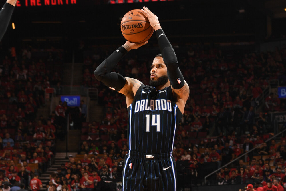 D.J. Augustin could bring much-needed firepower on the Lakers' second unit. (Photo by Ron Turenne/Getty Images)