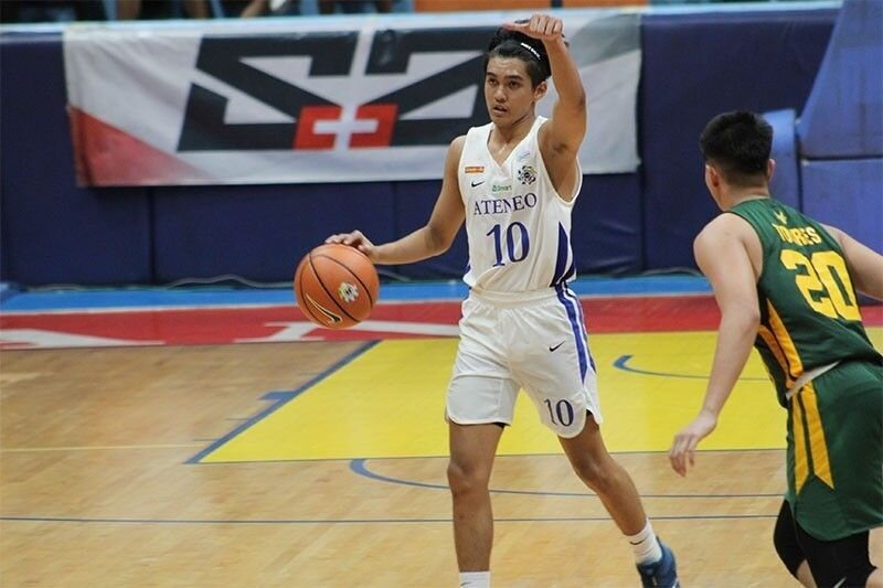 Lazaro's Ateneo teammate and point guard, Forthsky Padrigao. (Photo by Luisa Morales/Philstar)
