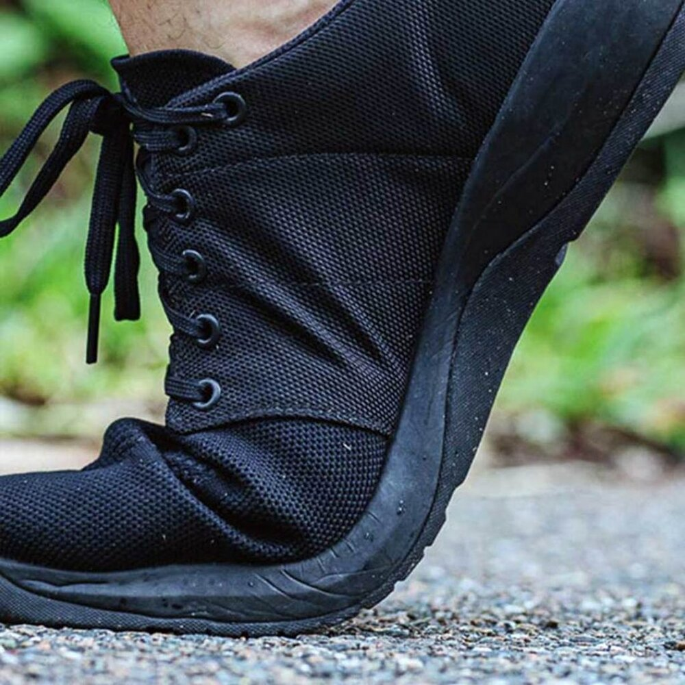 The GORUCK Ballistic Trainers is infused with firm knit and ballistic nylon materials. (Photo courtesy of GORUCK)