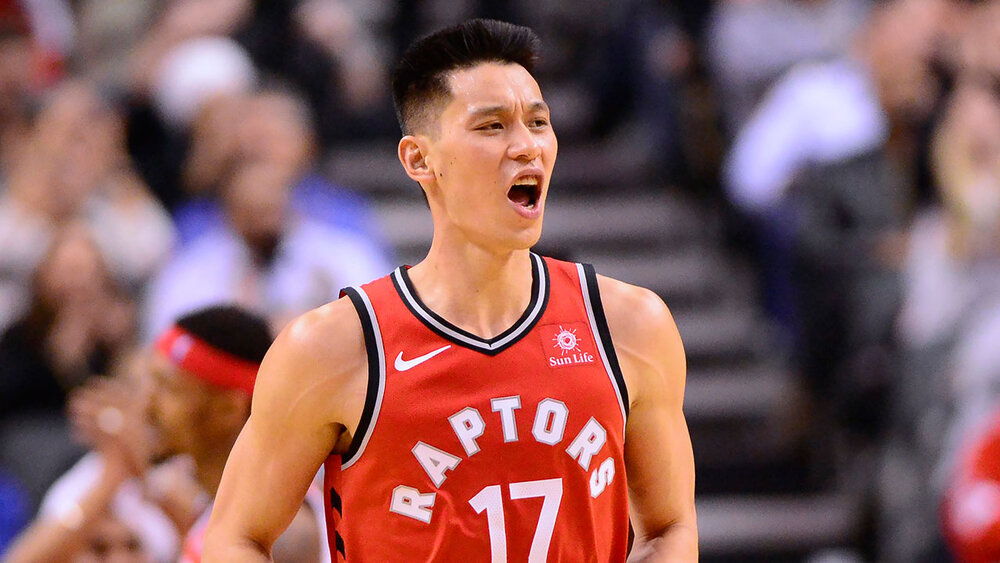 Jeremy Lin last played for the Toronto Raptors championship team in 2019. (Photo by Frank Gunn)