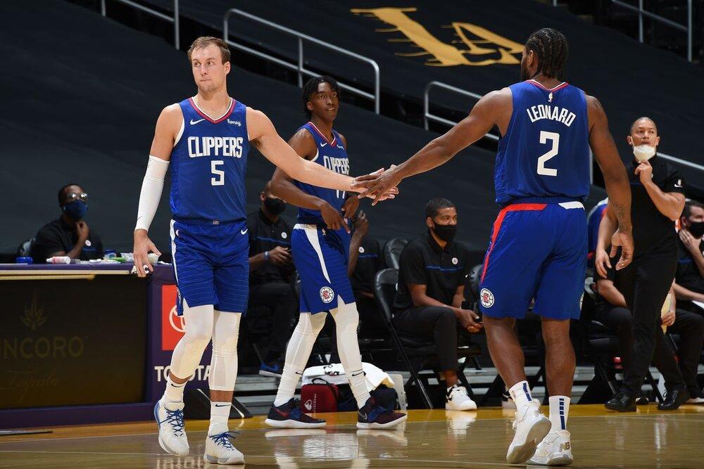 Luke Kennard scored 15.8 points per game for the Detroit Pistons last season. (Photo by Adam Pantozzi/NBAE/Getty Images)