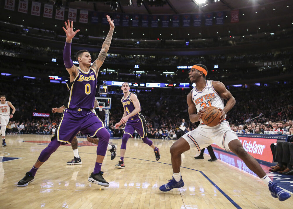 Kuzma will be a joy to watch in the Madison Square Garden. (Photo via USA TODAY Sports)