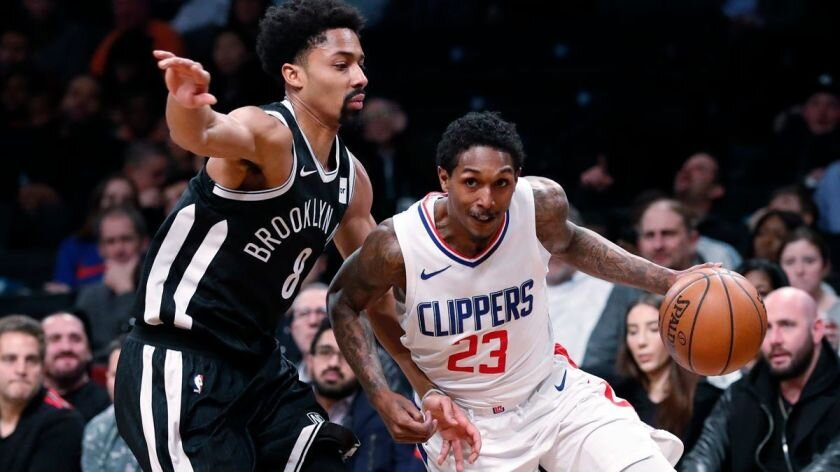 Lou Williams can provide instant offense for the soon-to-be-completed Brooklyn Nets. (Photo courtesy of Kathy Willens/Associated Press)