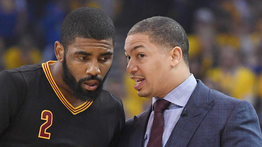 Lue was the architect of the 2016 Cavaliers championship squad. (Photo from Kyle Terada)