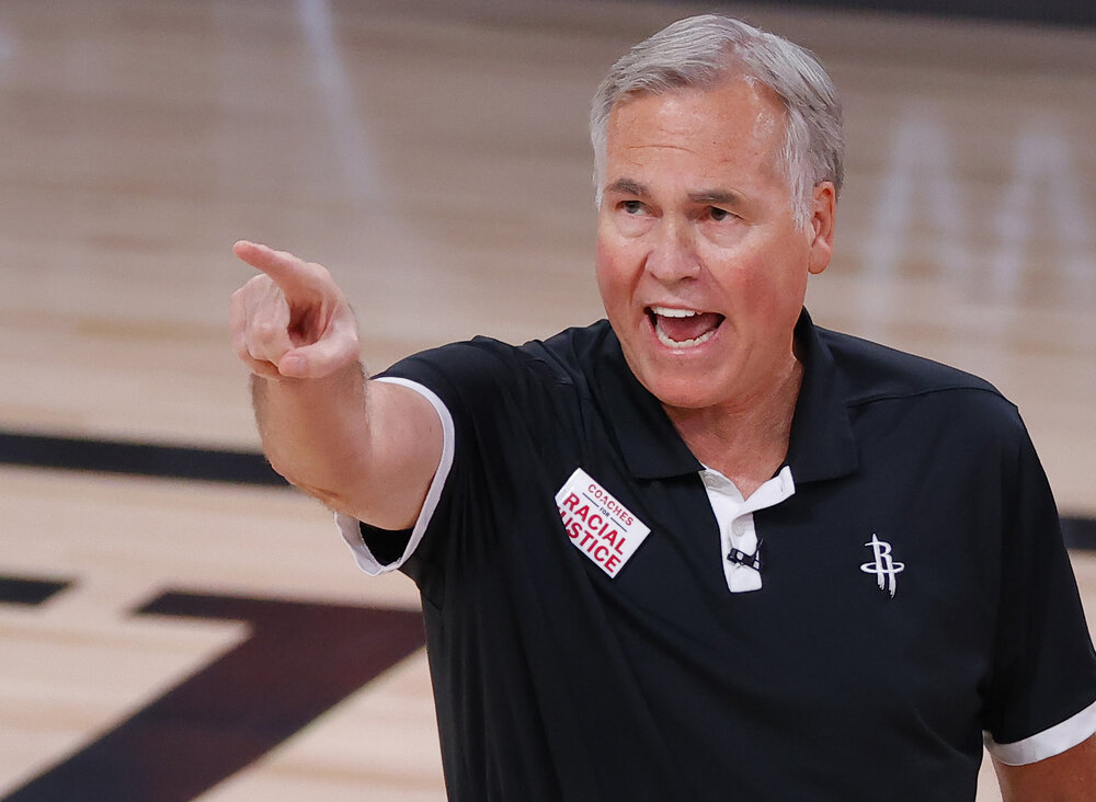 D'Antoni opted not to renew his contract with Houston. (Photo by Kevin C. Cox/Getty Images)