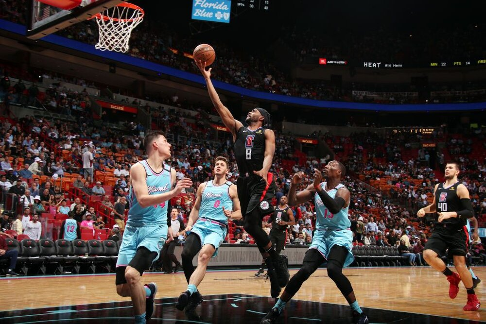 Mo Harkless is the newest addition to the Heat's roster. (Photo by Isaac Baldizon/NBAE/Getty Images)