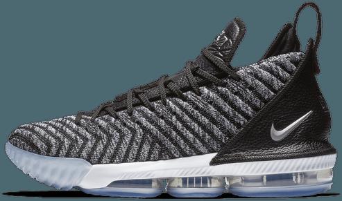 The Nike LeBron 16 also featured Battleknit technology. (Photo courtesy of Nike)