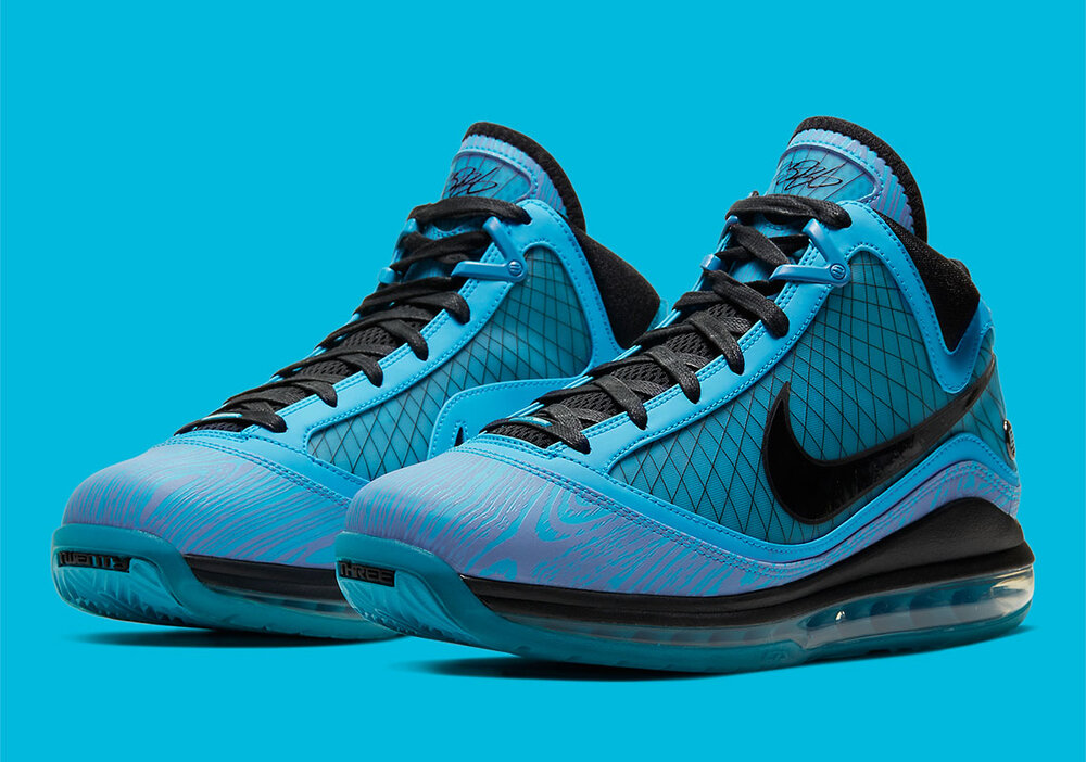 The Nike LeBron 7 was re-released this year. (Photo courtesy of Sneaker News)