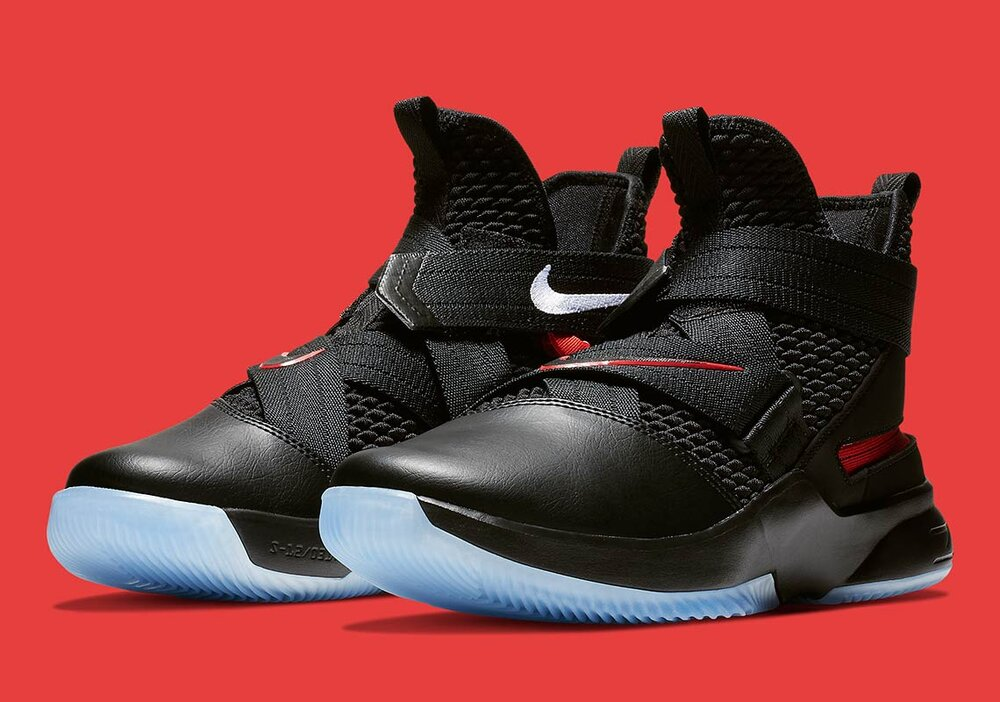 The Nike LeBron Soldier 12 is one of the best pairs from the LeBron Soldier line. (Photo courtesy of Sneaker News)