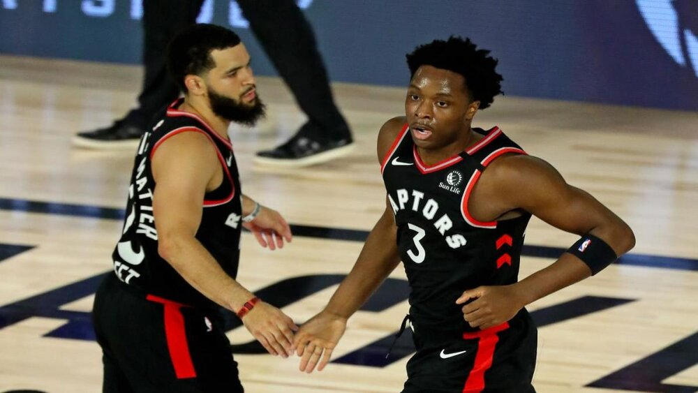 OG Anunoby normed a career-best 10.6 points last season for the Raptors. (Photo via CBS Sports)