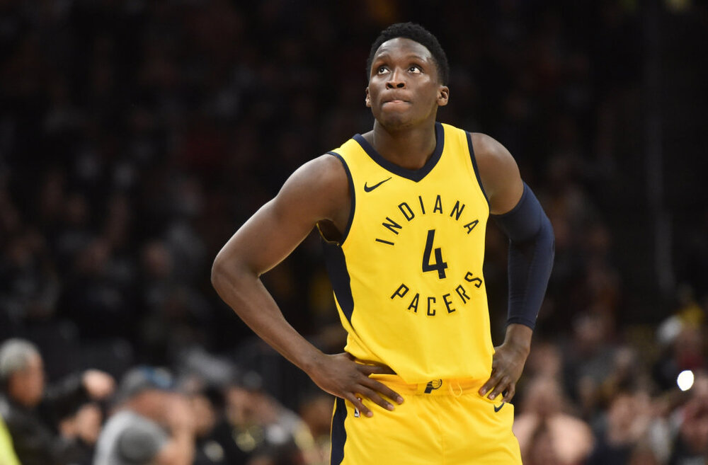 Despite trade rumors, Victor Oladipo stays committed with the Pacers. (Photo by Ken Blaze/USA TODAY Sports)