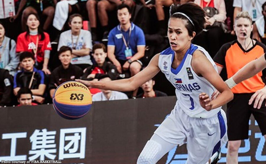 Sweet-shooting Janine Pontejos is the heart and soul of women's basketball in the Philippines. (Photo from FIBA)