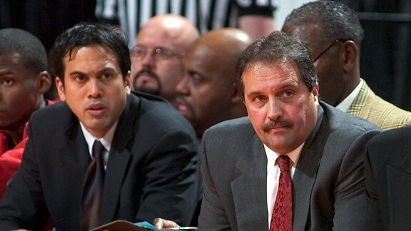 Stan Van Gundy believes that Erik Spoelstra is one of the best coaches in the NBA. (Photo from ESPN)