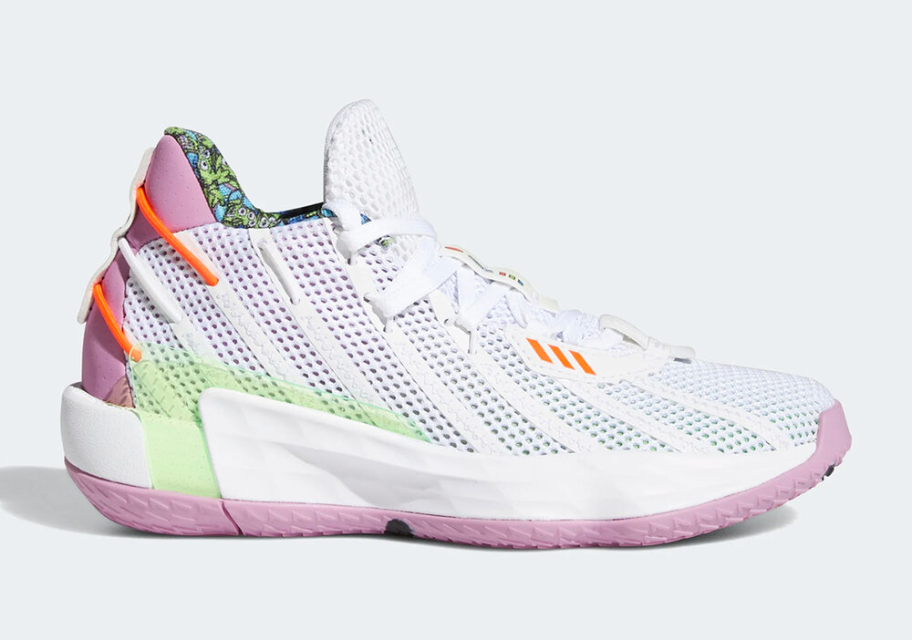 Adidas Dame 7 will feature Toy Story's famous space ranger, Buzz Lightyear. (Photo courtesy of Sneaker News)