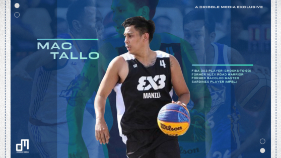 Mac Tallo rekindles passion for basketball through Chooks-to-Go 3x3