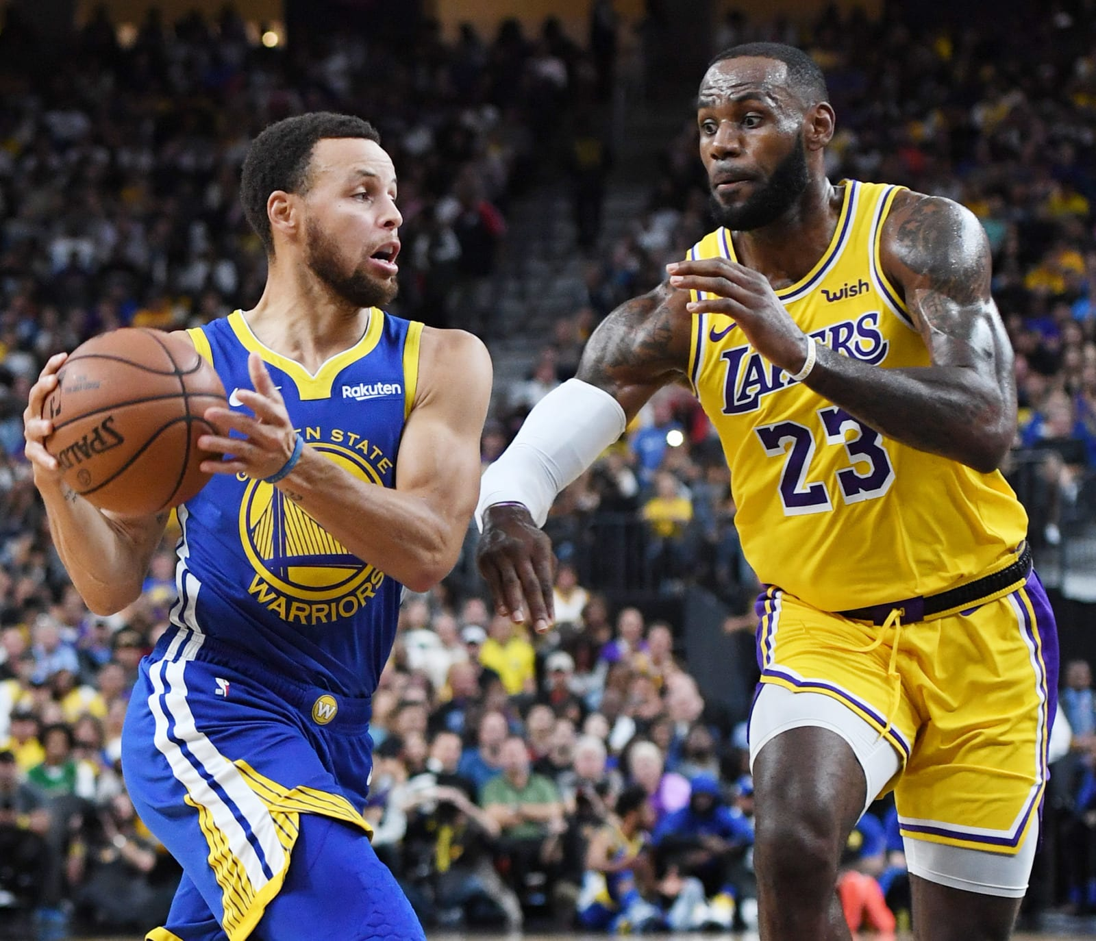 Steph Curry and LeBron James could go up against each other in the 2021 NBA Play-In Tournament